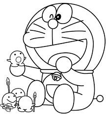 Gambar Mewarnai Doraemon 8