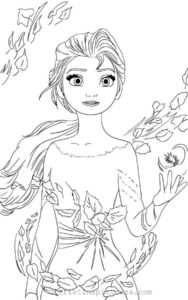 3..Gambar Mewarnai Princess