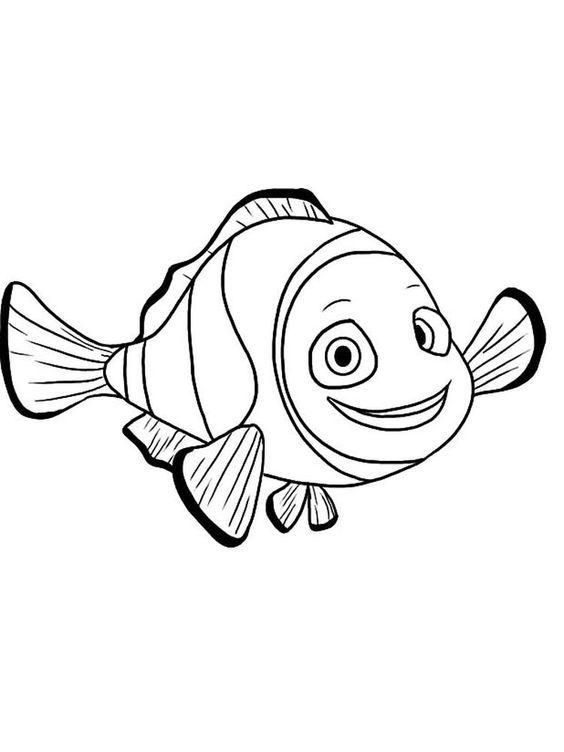 4.Gambar Mewarnai Ikan