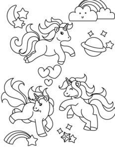 4.Gambar Mewarnai Kuda Poni