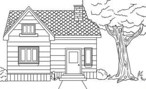 4.Gambar Mewarnai Rumah