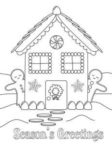 5.Gambar Mewarnai Rumah