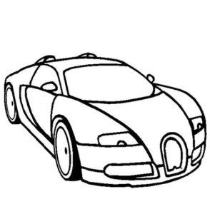 6.Gambar Mewarnai Mobil