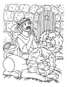 8.Gambar Mewarnai Singa