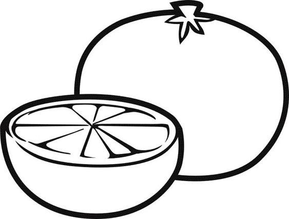 7 gambar mewarnai buah jeruk desember 2020