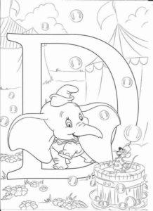 12.Gambar Mewarnai Gajah