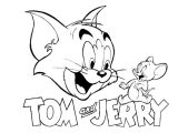 Gambar Mewarnai Tom and Jerry 3